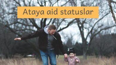 Photo of Ataya aid statuslar (2021) ✅