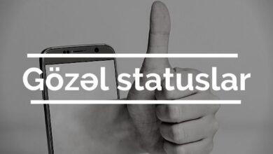 Photo of Gözəl Statuslar (2021) ✅