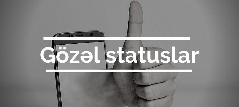 gozel statuslar