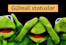 Photo of Gülməli statuslar (2020) ✅