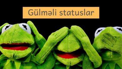 Photo of Gülməli statuslar (2021) ✅