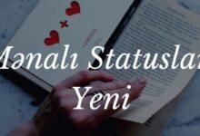 Photo of Mənalı Statuslar Yeni (2020) ✅