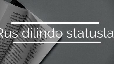 Photo of Rus Dilinde Statuslar (2021)✅