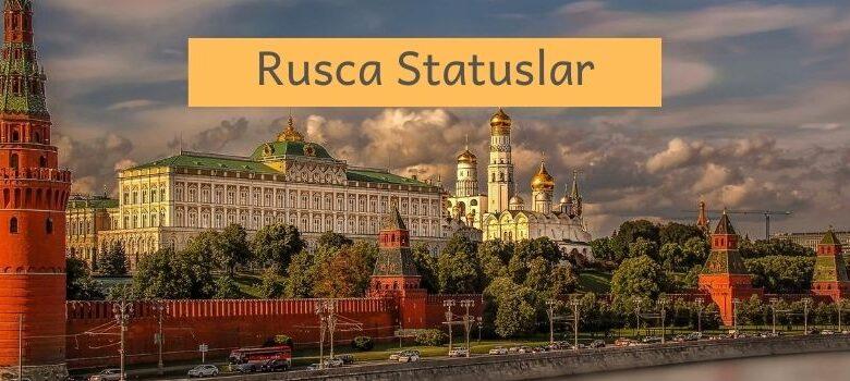 rusca statuslar 2020