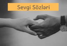 Photo of Sevgi sözləri (2020) ✅