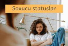 Photo of Soxucu statuslar (2020) ✅