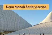 Photo of Derin Menali Sozler Azerice (2020) ✅