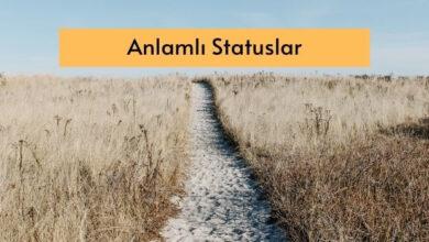 Photo of Anlamli Statuslar  ✅