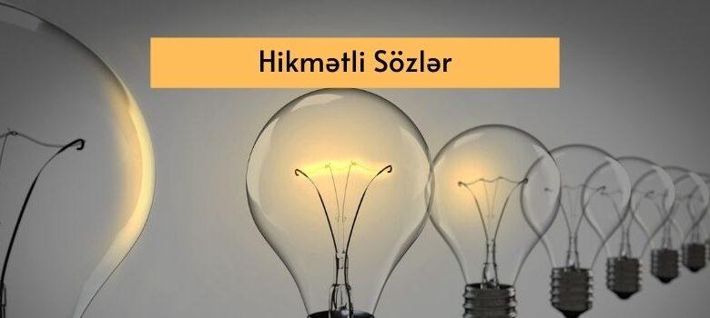 Photo of Hikmətli Sözlər (2021) ✅