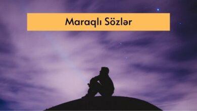 Photo of Maraqli Sozler, Səkillər  ✅