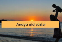 Photo of Anaya aid sozler (2021) ✔︎