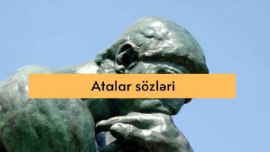 Photo of Atalar sozleri (2-ci hissə)