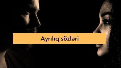 Photo of Ayriliq sozleri