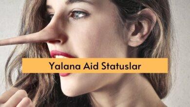 Photo of Yalana Aid Statuslar