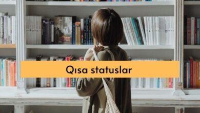 Photo of Qisa statuslar, Qısa Sözlər